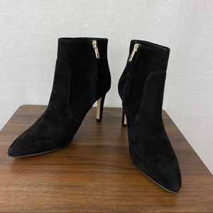NWOB Sam Edelman Black Heeled Booties